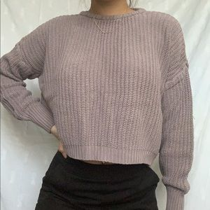 Brandy Melville Cropped Sweater